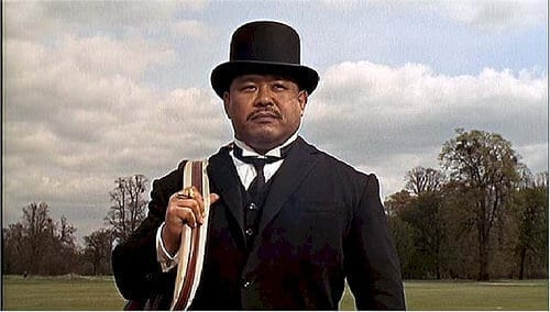 Bad Guy Oddjob With Top Hat